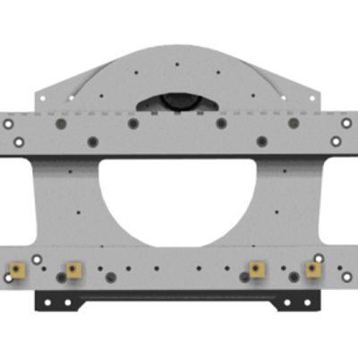Accesorio de carretilla elevadora de tambor rotador