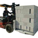 Carretilla elevadora hidráulica Ladrillos de hormigón / Abrazadera de elevación de bloque