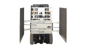Accesorio para carretilla elevadora Abrazadera de cartón Clase 3 y 1220 * 1420 mm Tamaño del brazo