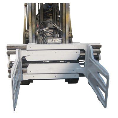 Abrazadera de paca giratoria para carretilla elevadora