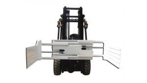 Abrazadera de pacas giratoria hidráulica eficiente para carretilla elevadora