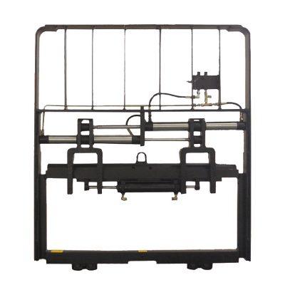 Posicionador de horquilla de metal hidráulico resistente para carretilla elevadora diesel