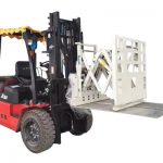 Accesorio de empuje de la carretilla elevadora, Accesorio de empuje y extracción de la carretilla elevadora