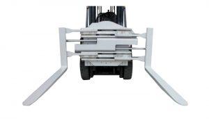 Accesorio para carretilla elevadora clase 2 Abrazadera giratoria con longitud de 1220 mm