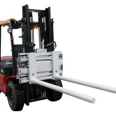 Abrazaderas de brazo de barra de desplazamiento lateral con carretilla elevadora
