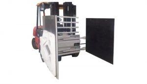 Abrazadera de cartón para carretilla elevadora, accesorio de carretilla elevadora Abrazadera de cartón, manipulador de cartón.