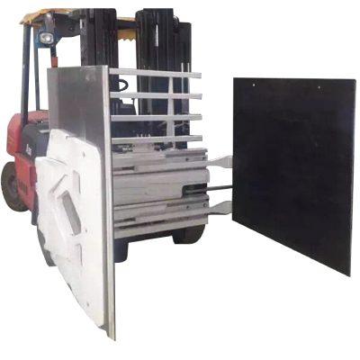 Carretilla elevadora con abrazadera de cartón de alta calidad