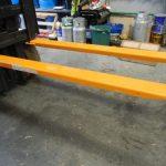 Extensiones de horquilla para montacargas de servicio pesado osha
