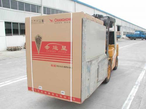 Abrazaderas de cartón Abrazadera TV